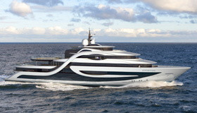 Проект яхты Expedition от Andy Waugh Yacht Design