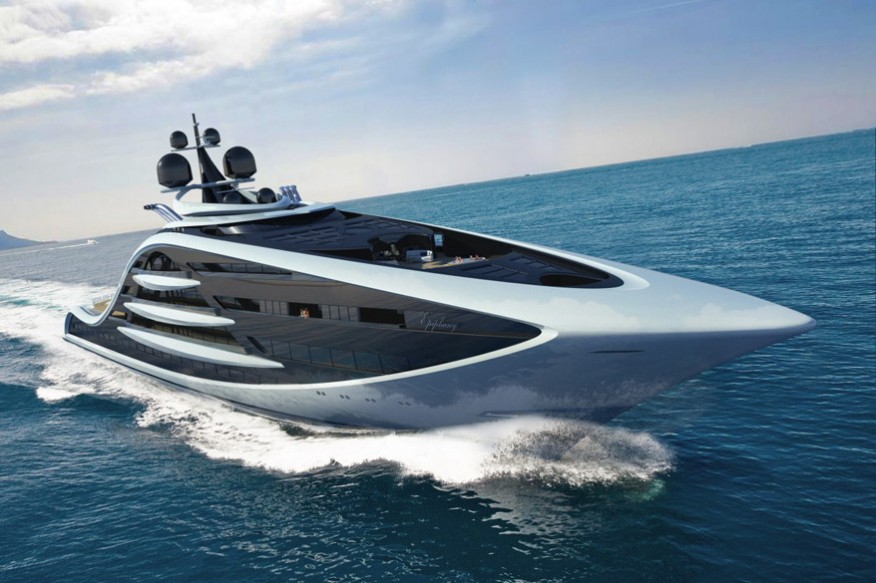 Проект яхты Epiphany от Andy Waugh Yacht Design