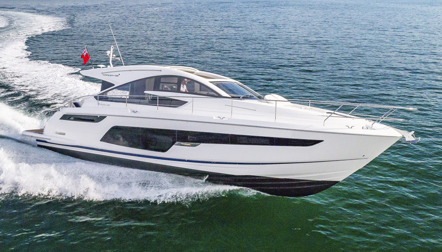 Фото моторной яхты Fairline Targa 48 GT