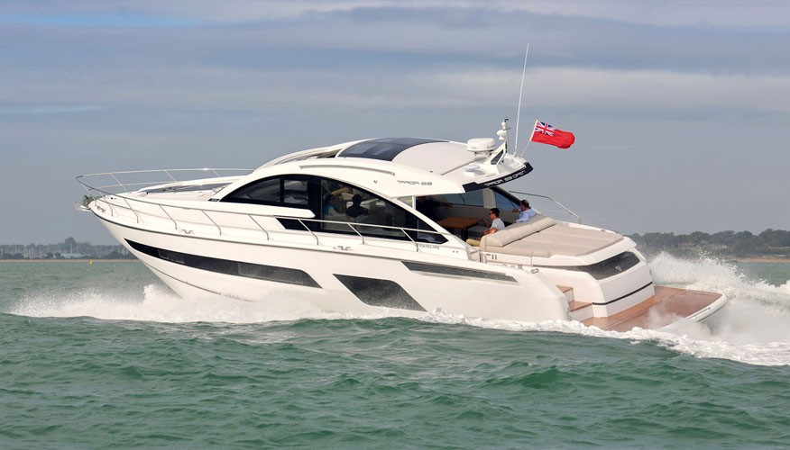 Фото моторной яхты Fairline Targa 53 Open