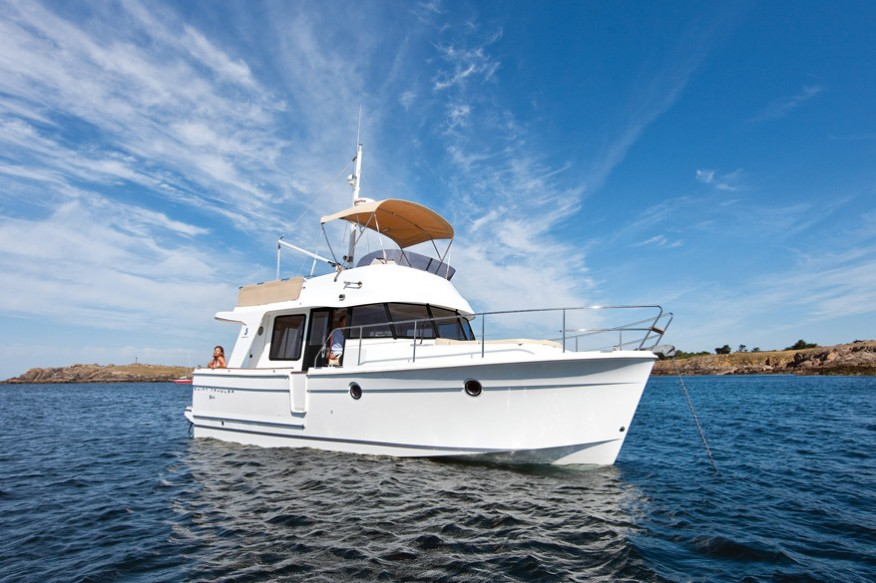Фото моторной яхты Beneteau Swift Trawler 34
