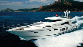 Фото моторной яхты Fairline Squadron 78 Custom