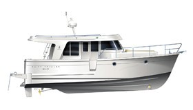 Фото моторной яхты Beneteau Swift Trawler 34S