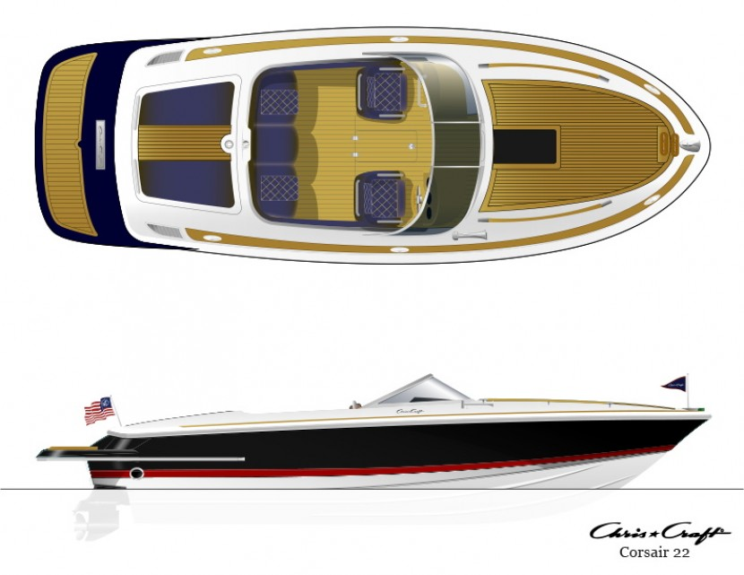 Chris-Craft Corsair 22