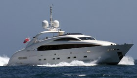 Фото яхты Whispering Angel верфи ISA Yachts
