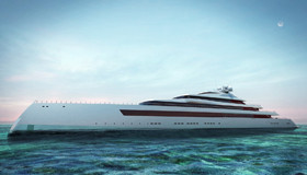 Проект яхты Estatement от Sinot Exclusive Yacht Design