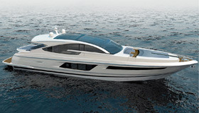 Фото моторной яхты Fairline Targa 75 GT