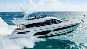 Фото моторной яхты Sunseeker Manhattan 68