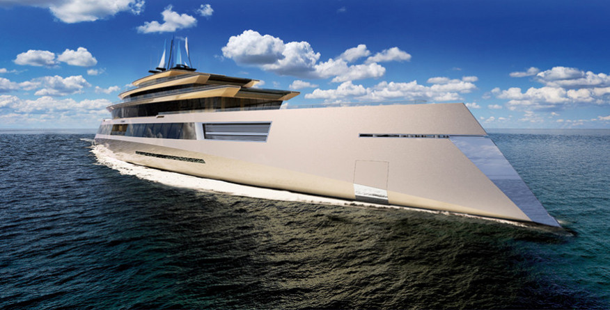 Проект яхты Symmetry от Sinot Exclusive Yacht Design