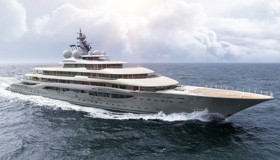 Фото яхты Flying Fox верфи Lurssen Yachts