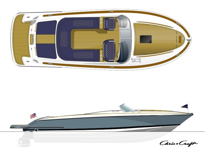 Chris-Craft Corsair 28