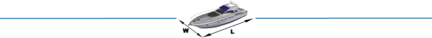 Размеры Beneteau Barracuda 9