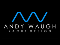 Логотип компании Andy Waugh Yacht Design