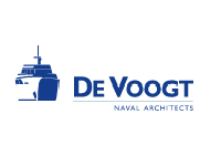 Логотип компании De Voogt Naval Architects